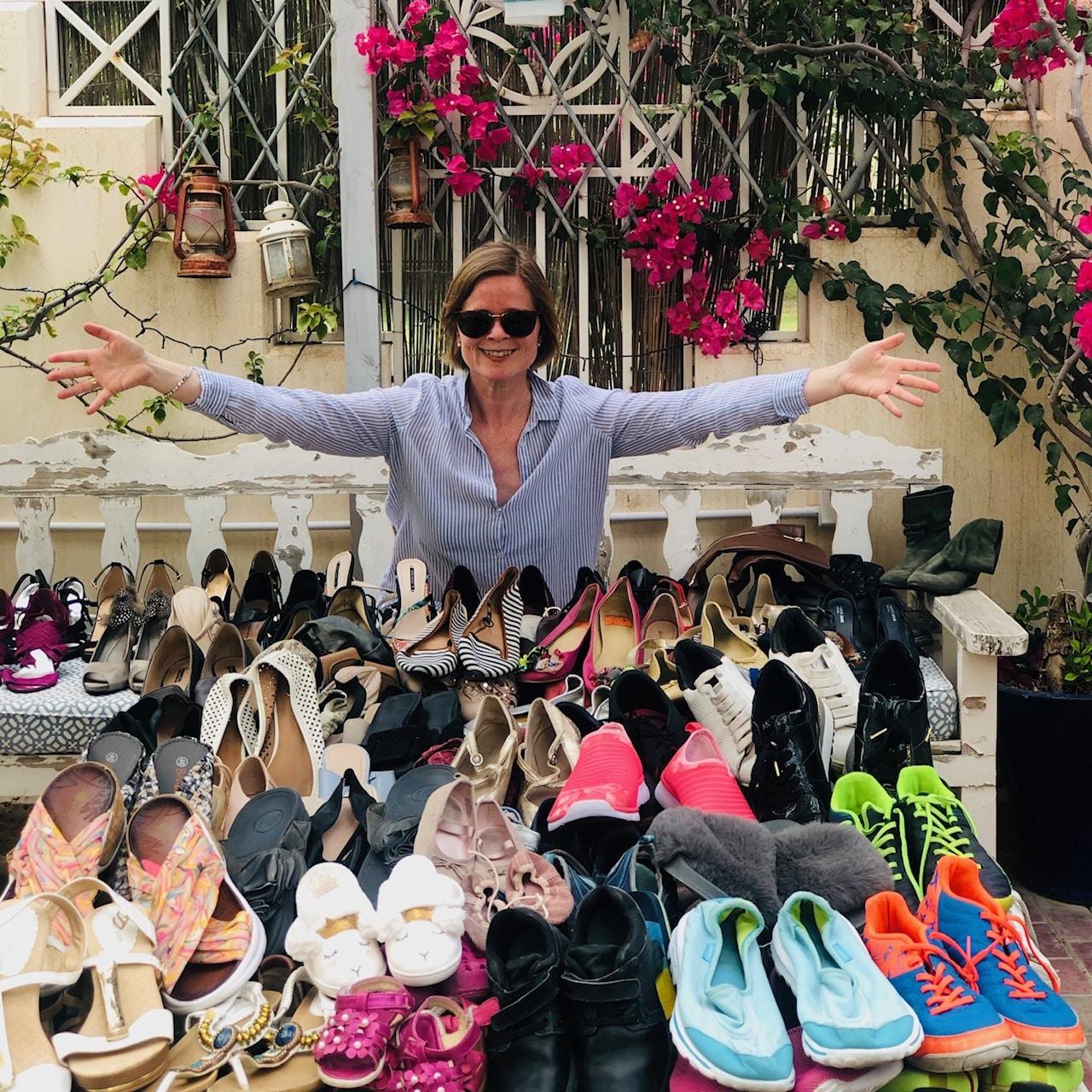 shoe donating