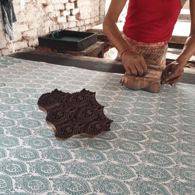 Jaipur block printing