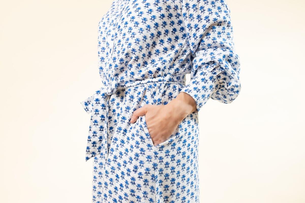 margot delfts blue pocket belt